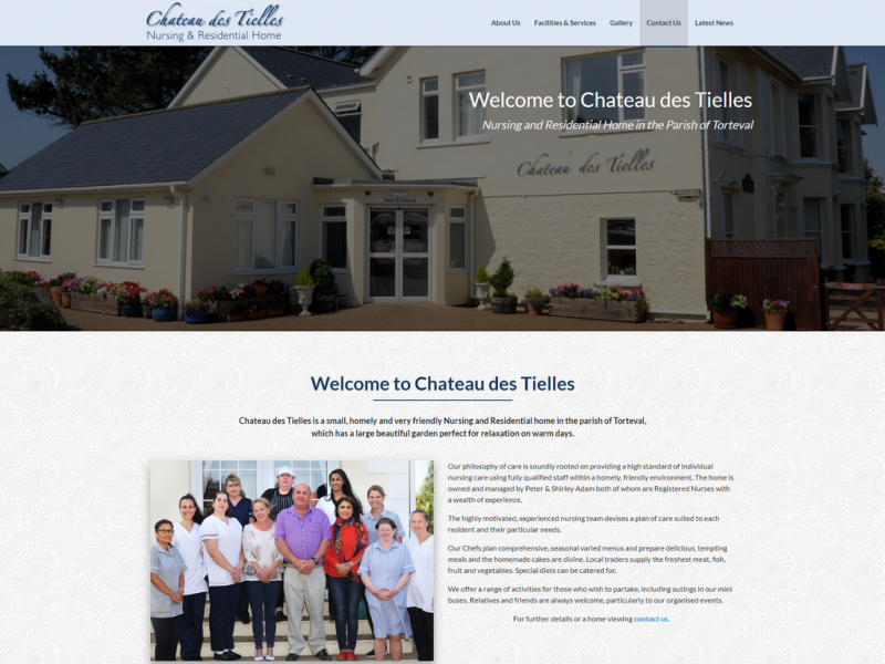 Chateau des Tielles – Nursing and Residential Home