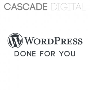 WordPress Done for You