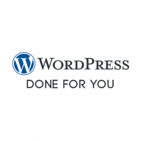 WordPress Done for You (greyscale)
